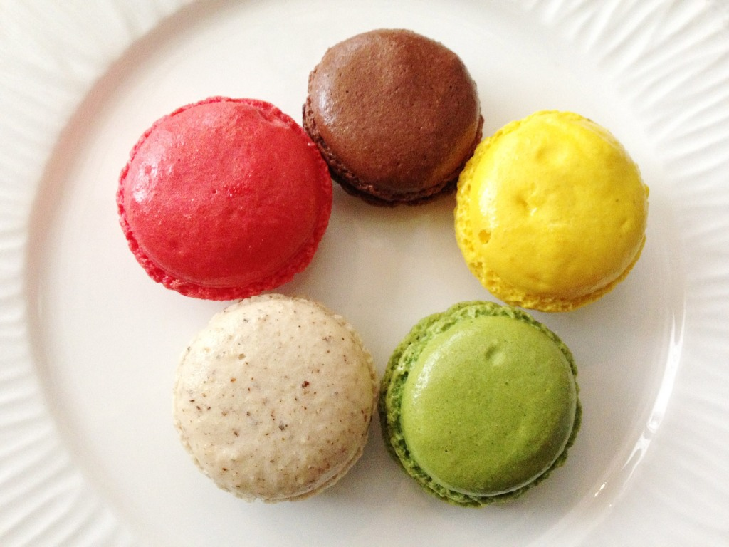 Macarons at Coffee Academics