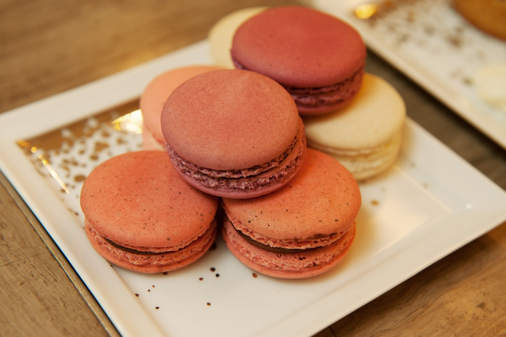 Lovely French macarons at Le Gouter Bernardaud