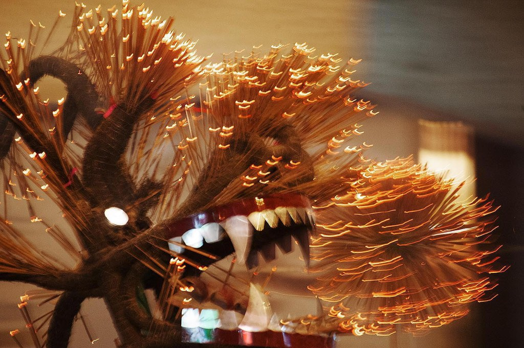 Dragon Fire Dance in Tin Hau
