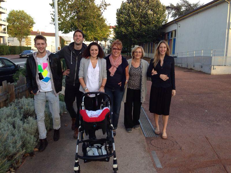 The French side of Juliette's family!