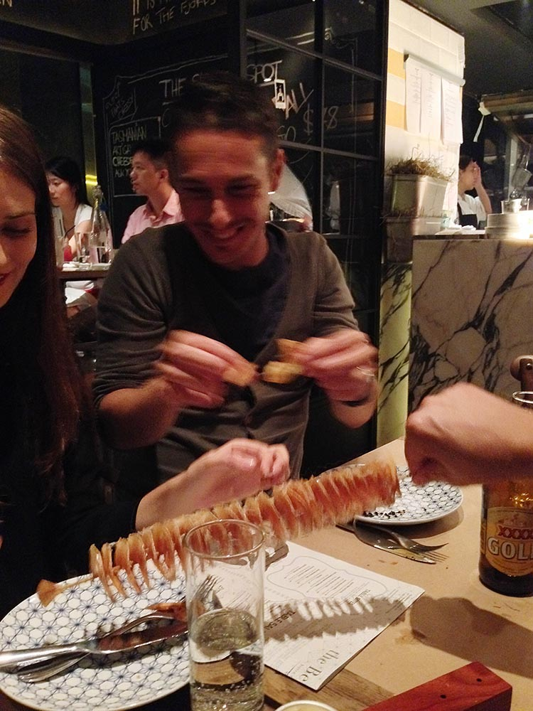 Extracting 'twisties' from their playful skewer