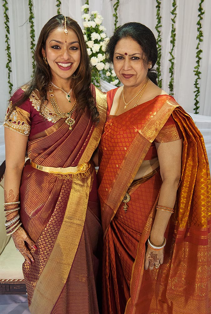 Divya and her beautiful, proud mother, Lalita