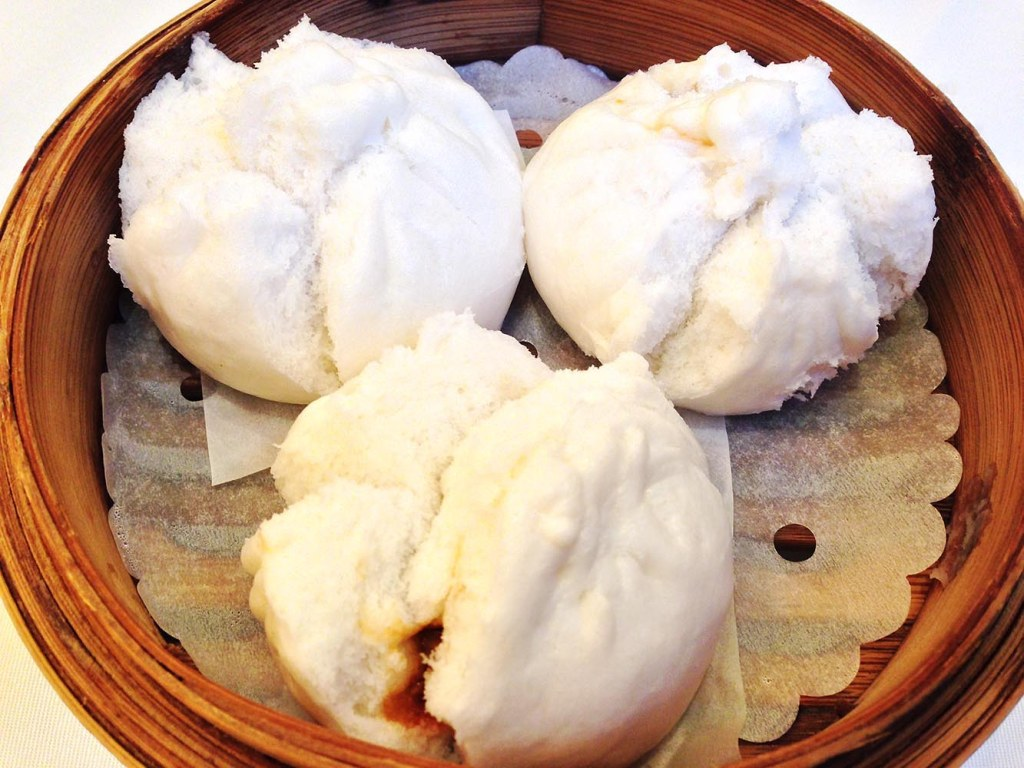 Traditional steamed BBQ pork buns (this version from Duddell's, but there are better and less expensive options elsewhere)