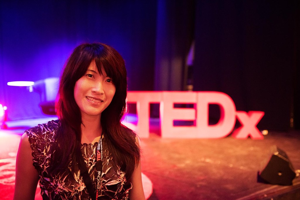 Does posing next to the TEDx sign make me a huge nerd? Maybe - but I don't really care :)