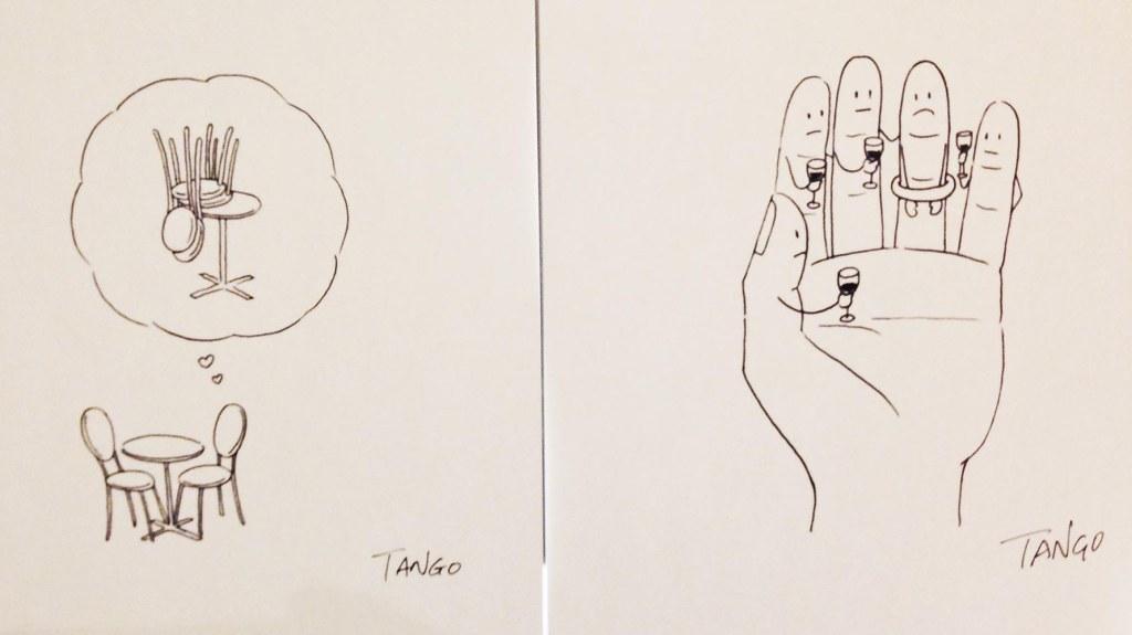 A small window into the witty and delightfully naughty mind of Chinese cartoonist, Tango Gao