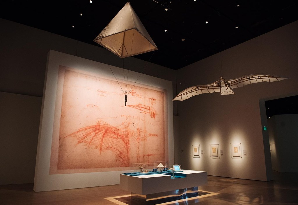 Revisiting da Vinci's early explorations of the possibilities of artificial flight