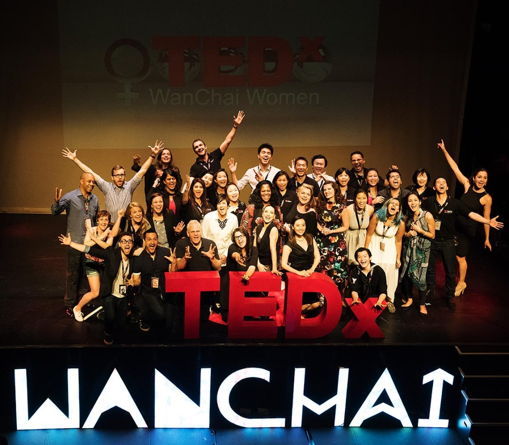 Great job, TEDxWanChaiWomen!