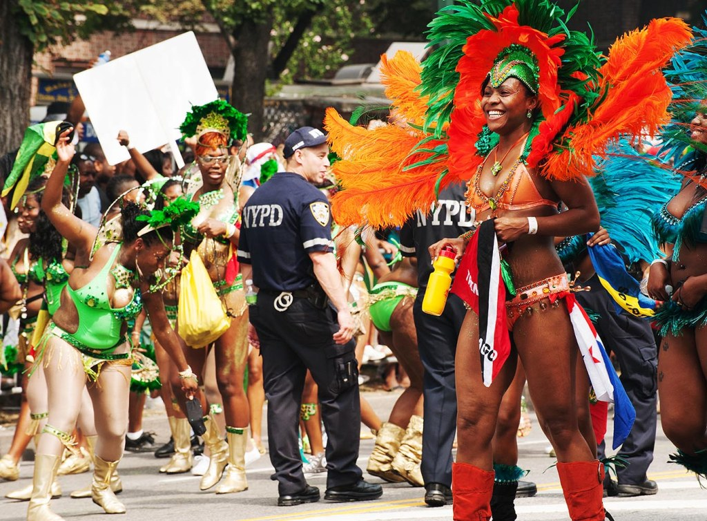 Brooklyn's answer to Carnival, the West Indian-American Day Parade - leave your shyness at home!