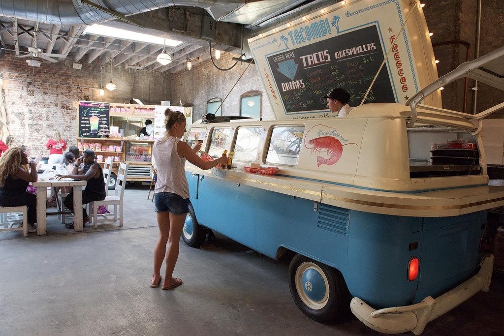 Tacombi's Instagram-worthy, converted VW bus