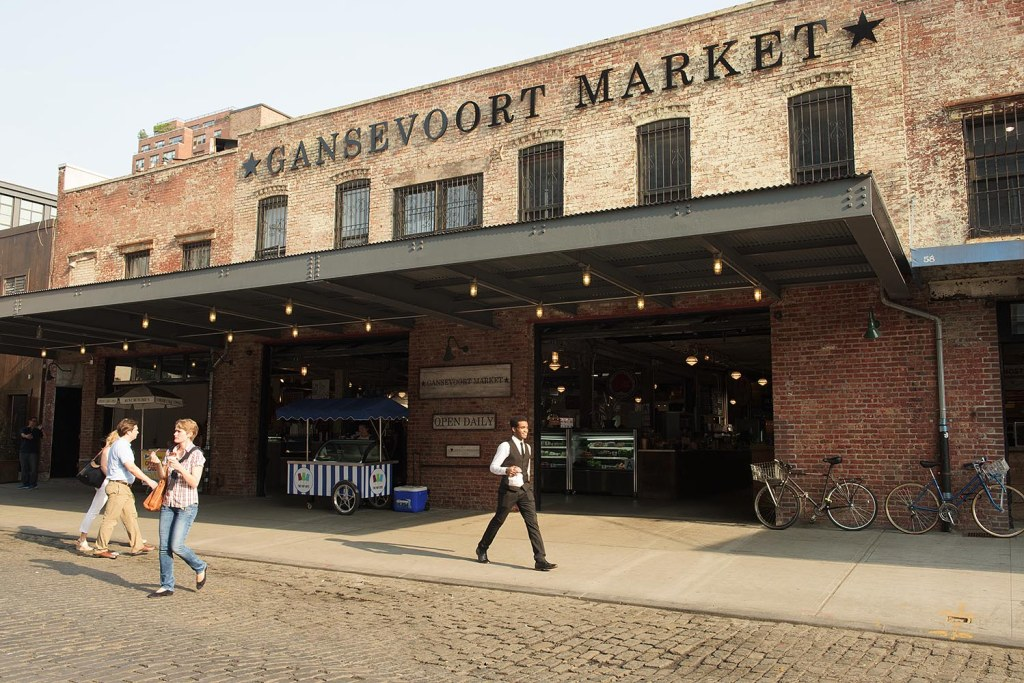 One of NYC's newest gourmet markets, the Gansevoort Market