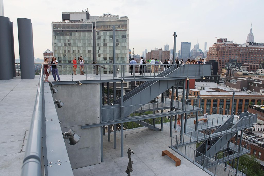 The new Whitney's outdoor gallery spaces and viewing terraces