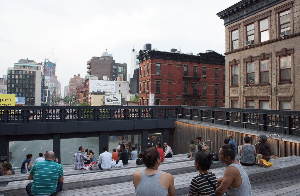 The High Line's 10th Avenue Overlook