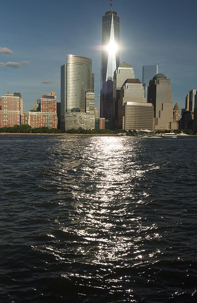 1 WTC - a glistening new addition to NYC's iconic skyline