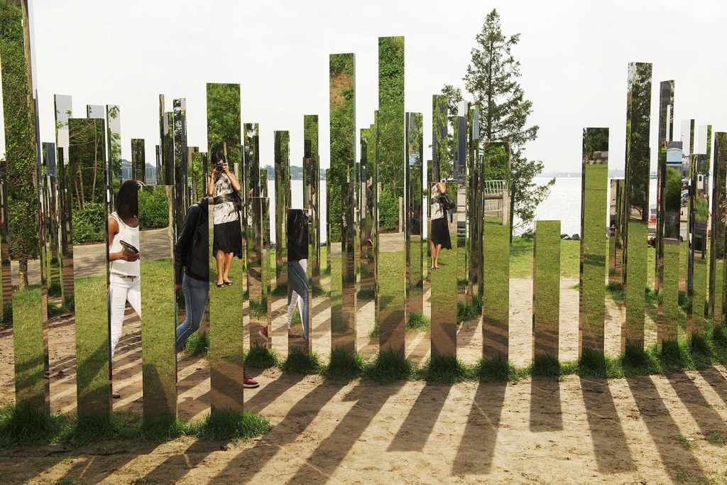 Reflecting on Jeppe Hein's Mirror Labyrinth NYC