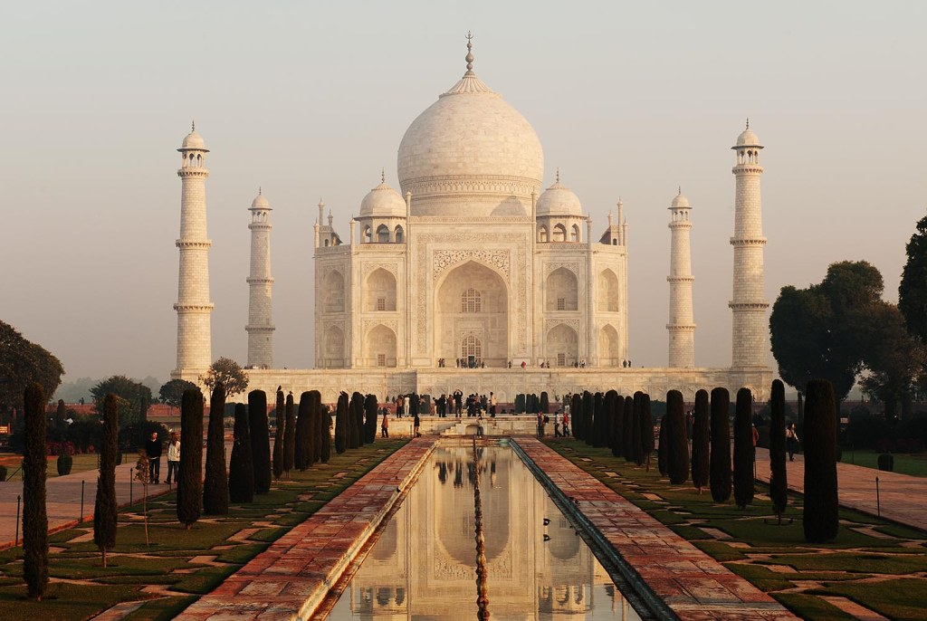 The iconic Taj Mahal - and ultimate symbol of love