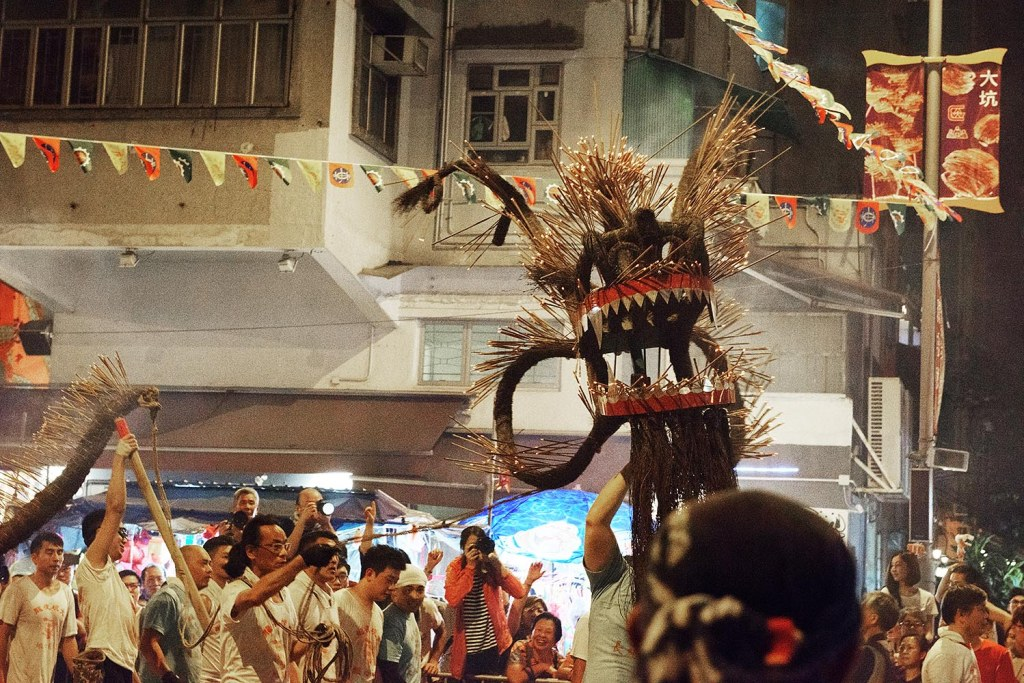 The pulsating Tai Hang Fire Dragon Dance