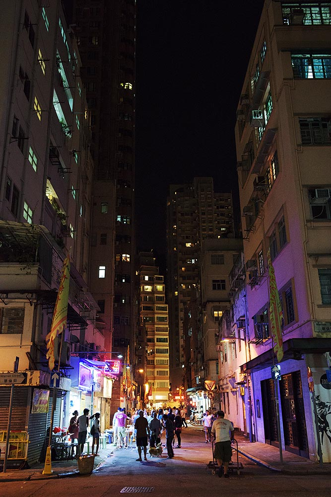 The quiet after the storm in Tai Hang