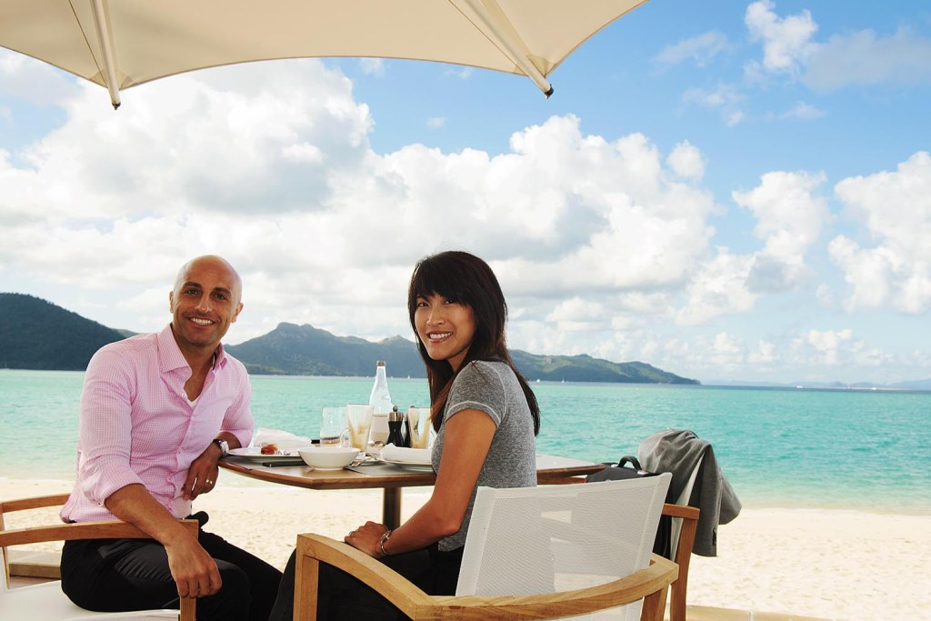 We enjoy a final breakfast at the One & Only Hayman Island